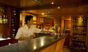Bar on Halong Emotion Cruise